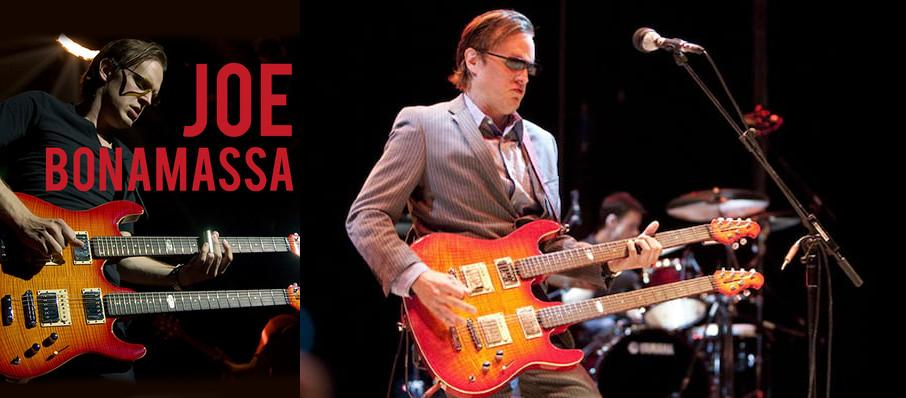 Joe Bonamassa at Durham Performing Arts Center