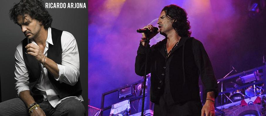 Ricardo Arjona at Lawrence Joel Veterans Memorial Coliseum