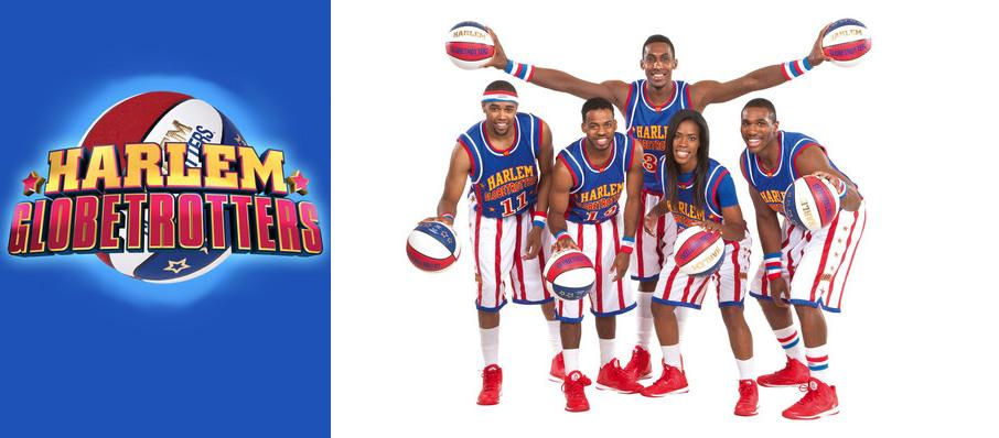 The Harlem Globetrotters at Lawrence Joel Veterans Memorial Coliseum