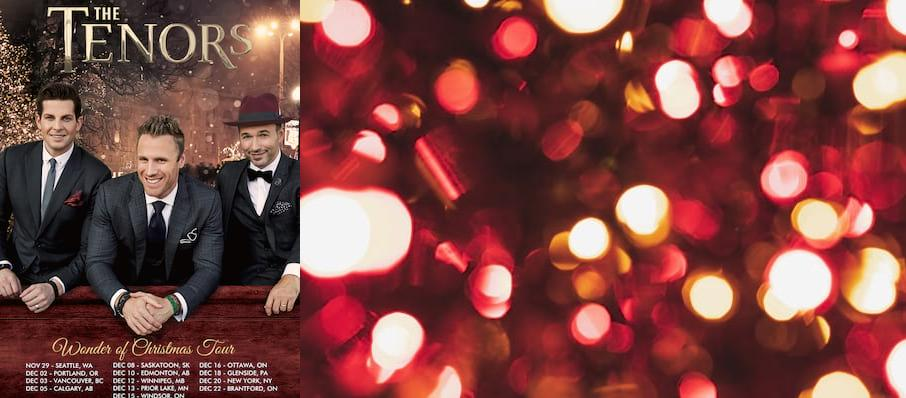 The Tenors at Carolina Theatre - Fletcher Hall