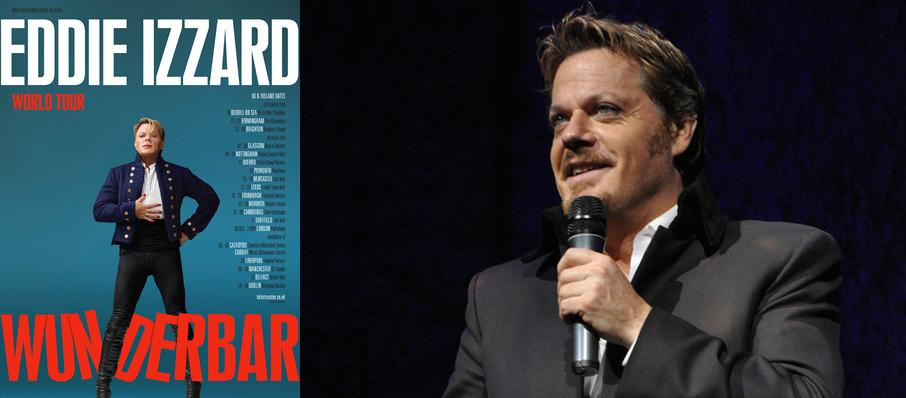 Eddie Izzard at Carolina Theatre - Fletcher Hall