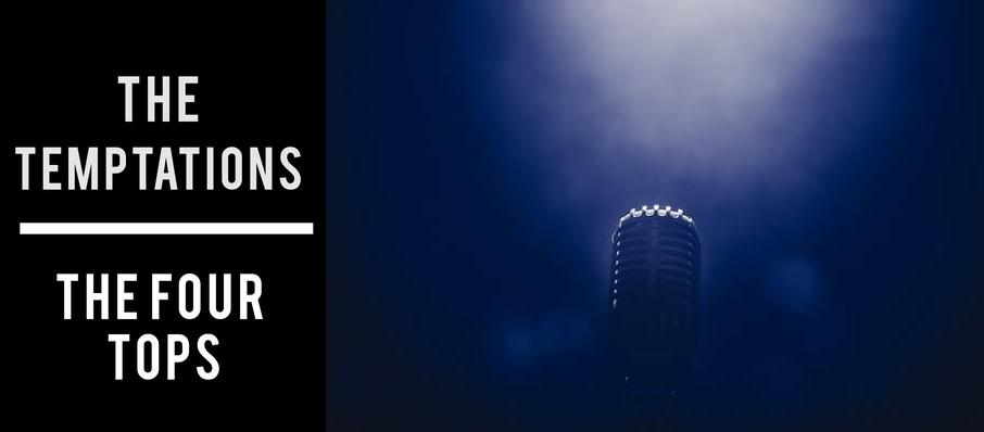 The Temptations & The Four Tops at Durham Performing Arts Center