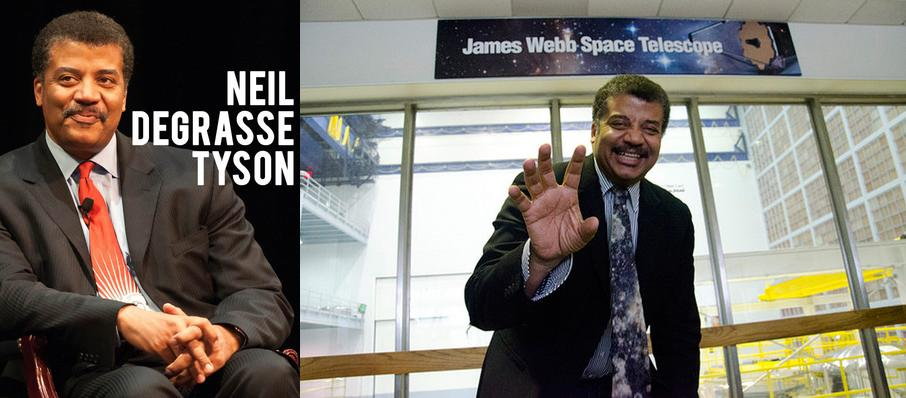 Neil DeGrasse Tyson at Durham Performing Arts Center