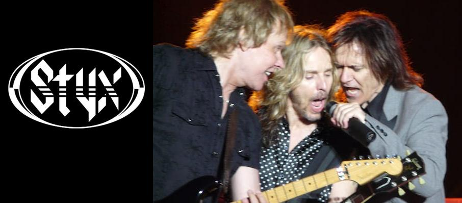 Styx at Durham Performing Arts Center