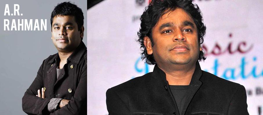 A.R. Rahman at Durham Performing Arts Center