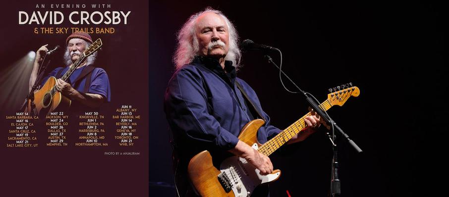 David Crosby at Carolina Theatre - Fletcher Hall