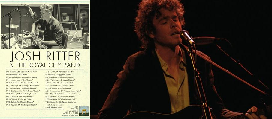 Josh Ritter at Carolina Theatre - Fletcher Hall