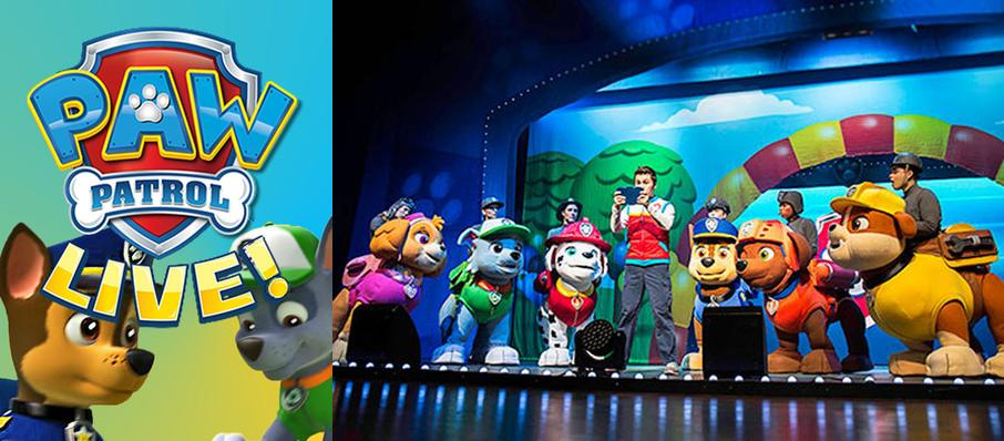 Paw Patrol at Durham Performing Arts Center