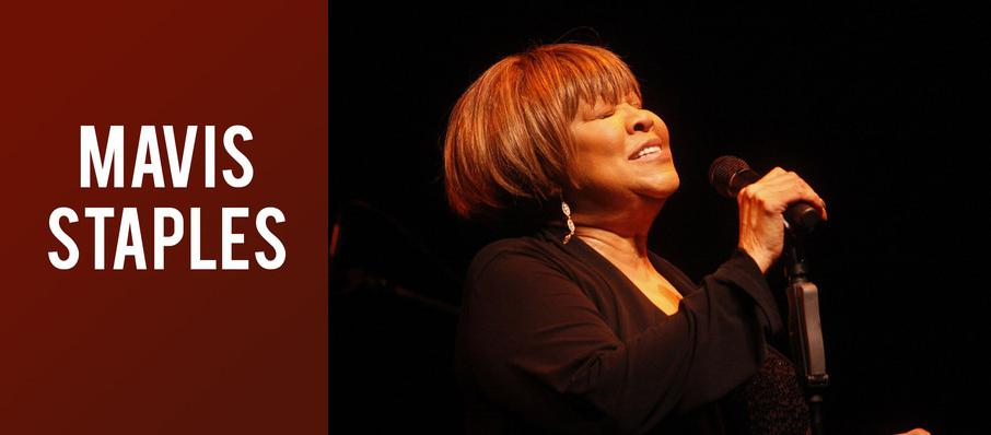 Mavis Staples at Carolina Theatre - Fletcher Hall