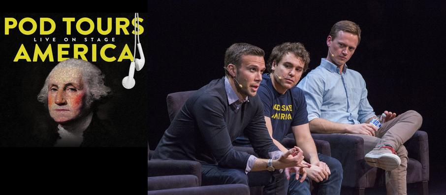 Pod Save America at Durham Performing Arts Center
