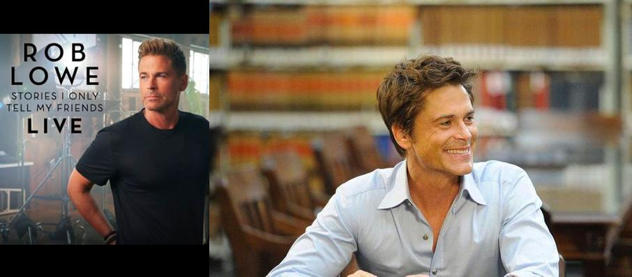 Rob Lowe at Durham Performing Arts Center