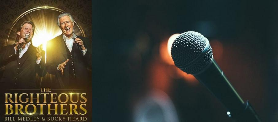 The Righteous Brothers at Carolina Theatre - Fletcher Hall