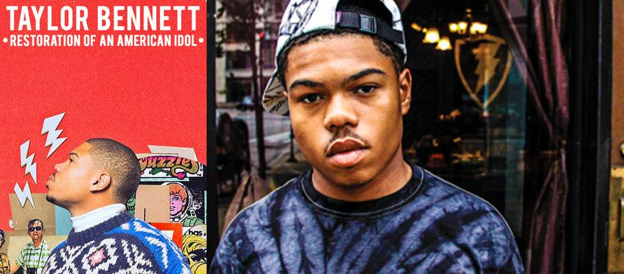 Taylor Bennett at Motorco Music Hall