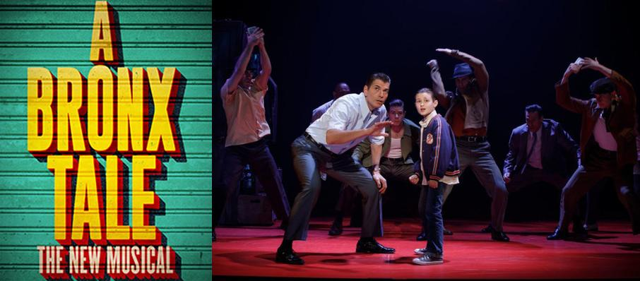 A Bronx Tale at Durham Performing Arts Center