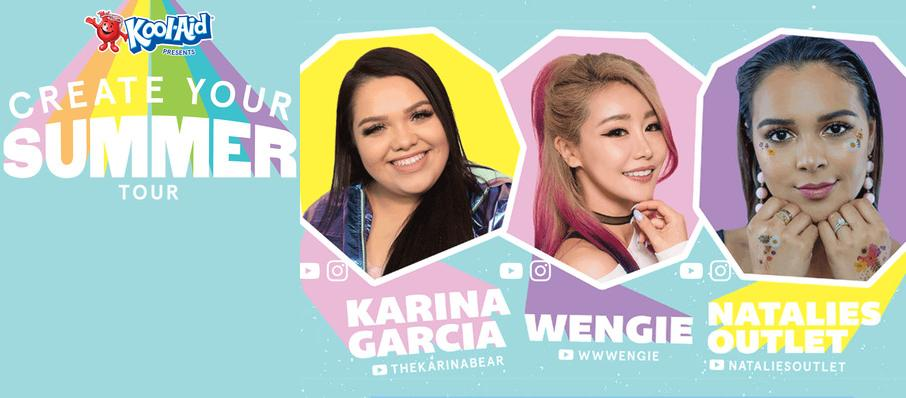 Create Your Summer Tour ft. Karina Garcia, Wengie, and Natalies Outlet at Cat's Cradle