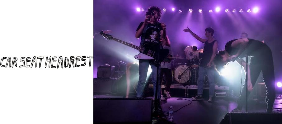 Car Seat Headrest at Cat's Cradle