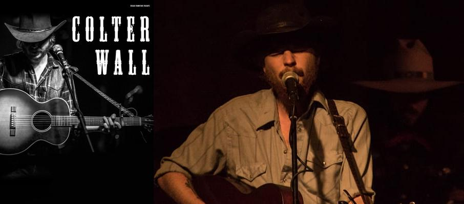 Colter Wall at Cat's Cradle