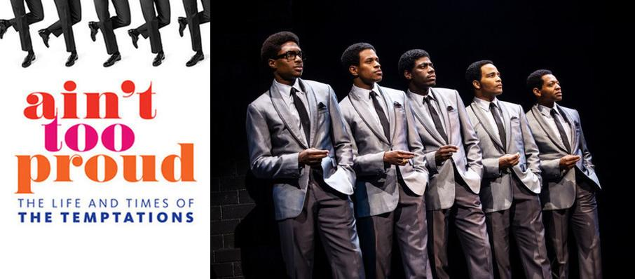 Ain't Too Proud - The Life and Times of the Temptations at Durham Performing Arts Center