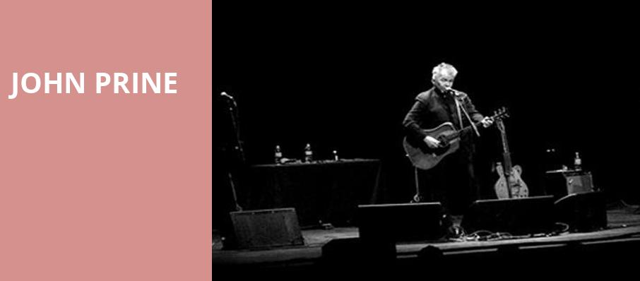 John Prine, Durham Performing Arts Center, Durham