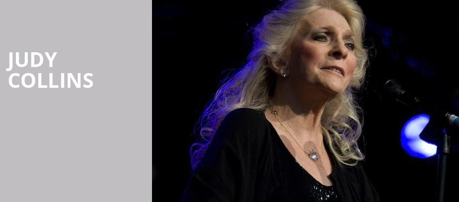 Judy Collins, Carolina Theatre Fletcher Hall, Durham