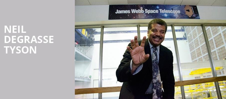 Neil DeGrasse Tyson, Durham Performing Arts Center, Durham