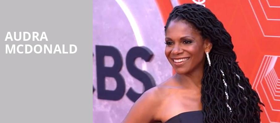 Audra McDonald, Memorial Hall, Durham