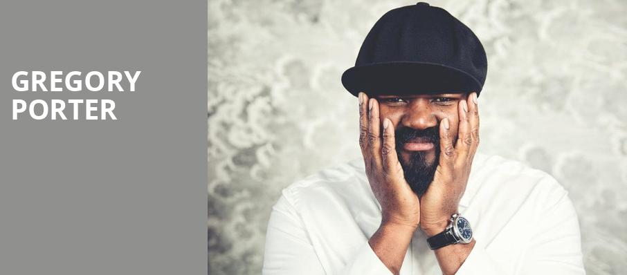 Gregory Porter, Carolina Theatre Fletcher Hall, Durham