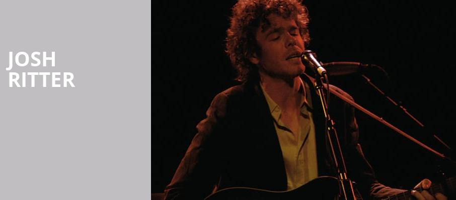 Josh Ritter, Carolina Theatre Fletcher Hall, Durham