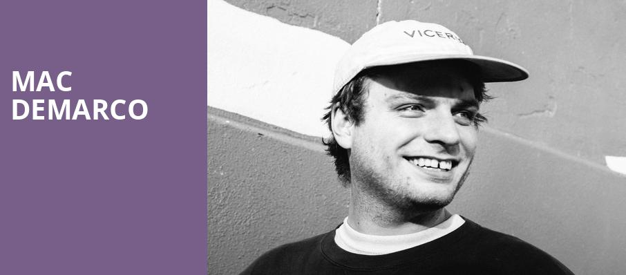 Mac DeMarco, Carolina Theatre Fletcher Hall, Durham