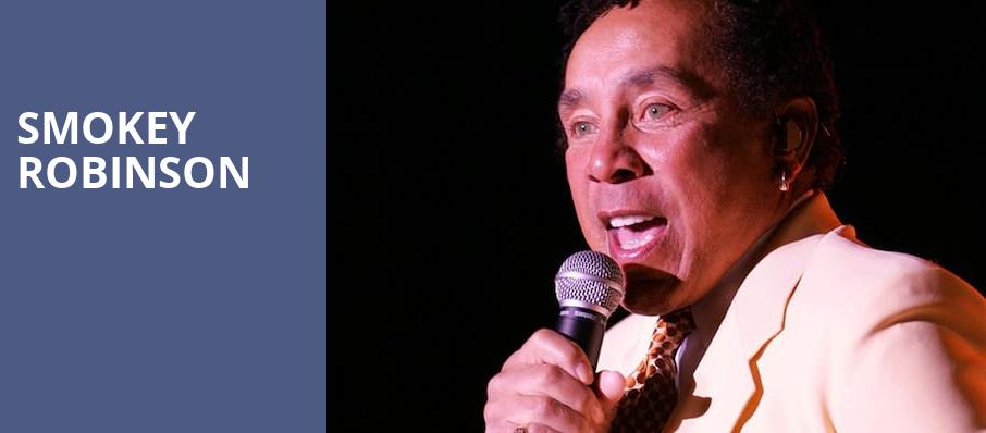 Smokey Robinson, Durham Performing Arts Center, Durham