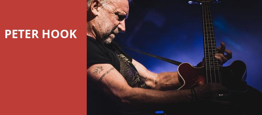 Peter Hook, Cats Cradle, Durham