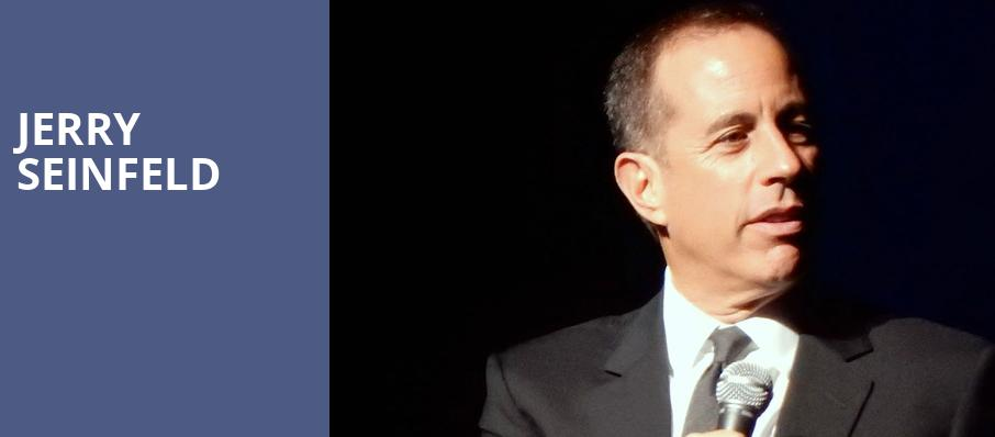 Jerry Seinfeld, Durham Performing Arts Center, Durham