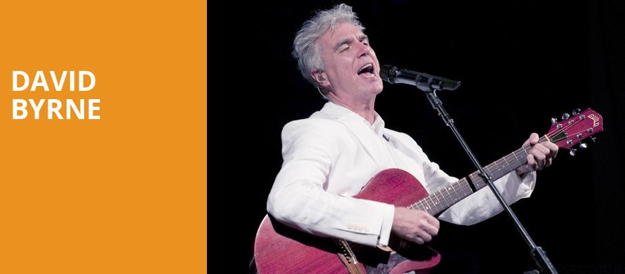 David Byrne, Durham Performing Arts Center, Durham